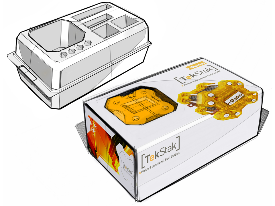 TekStak™ Educational Fuel Cell Packaging | ROBRADY design