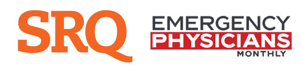 SRQ Magazine Emergency Physicians Monthly Logo