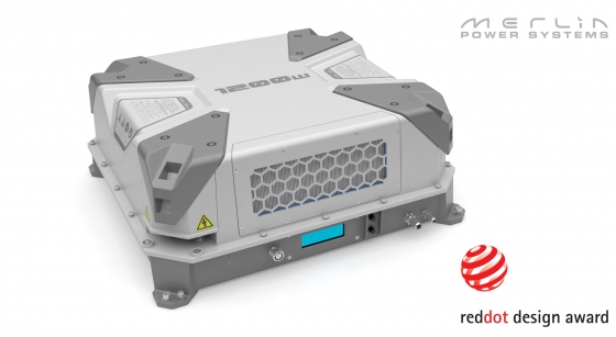 Merlin Fuel Cell Wins Red Dot Award   ROBRADY design
