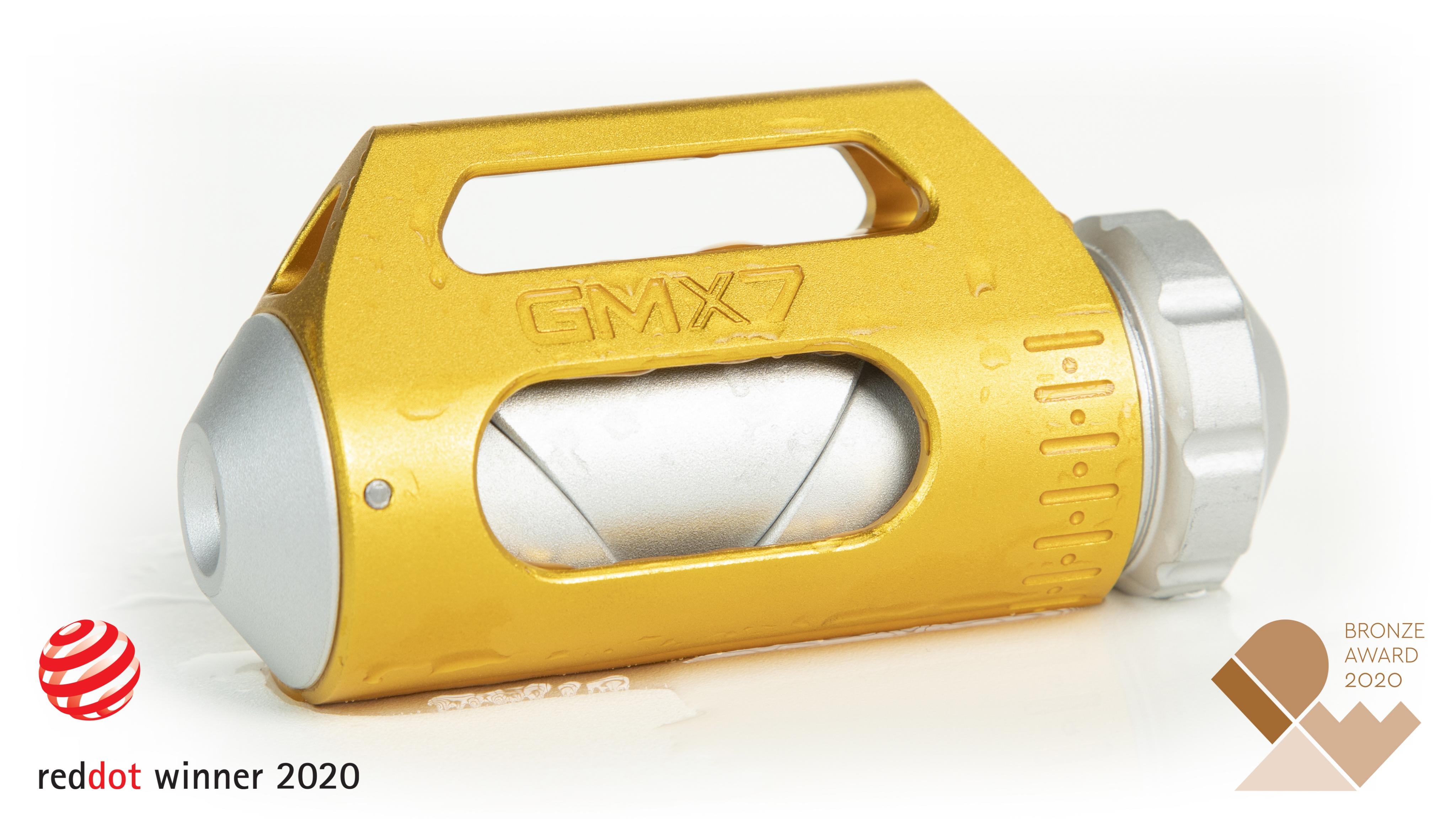 GMX7 X1-PRO Red Dot Winner 2020, IDEA 2020 Winner