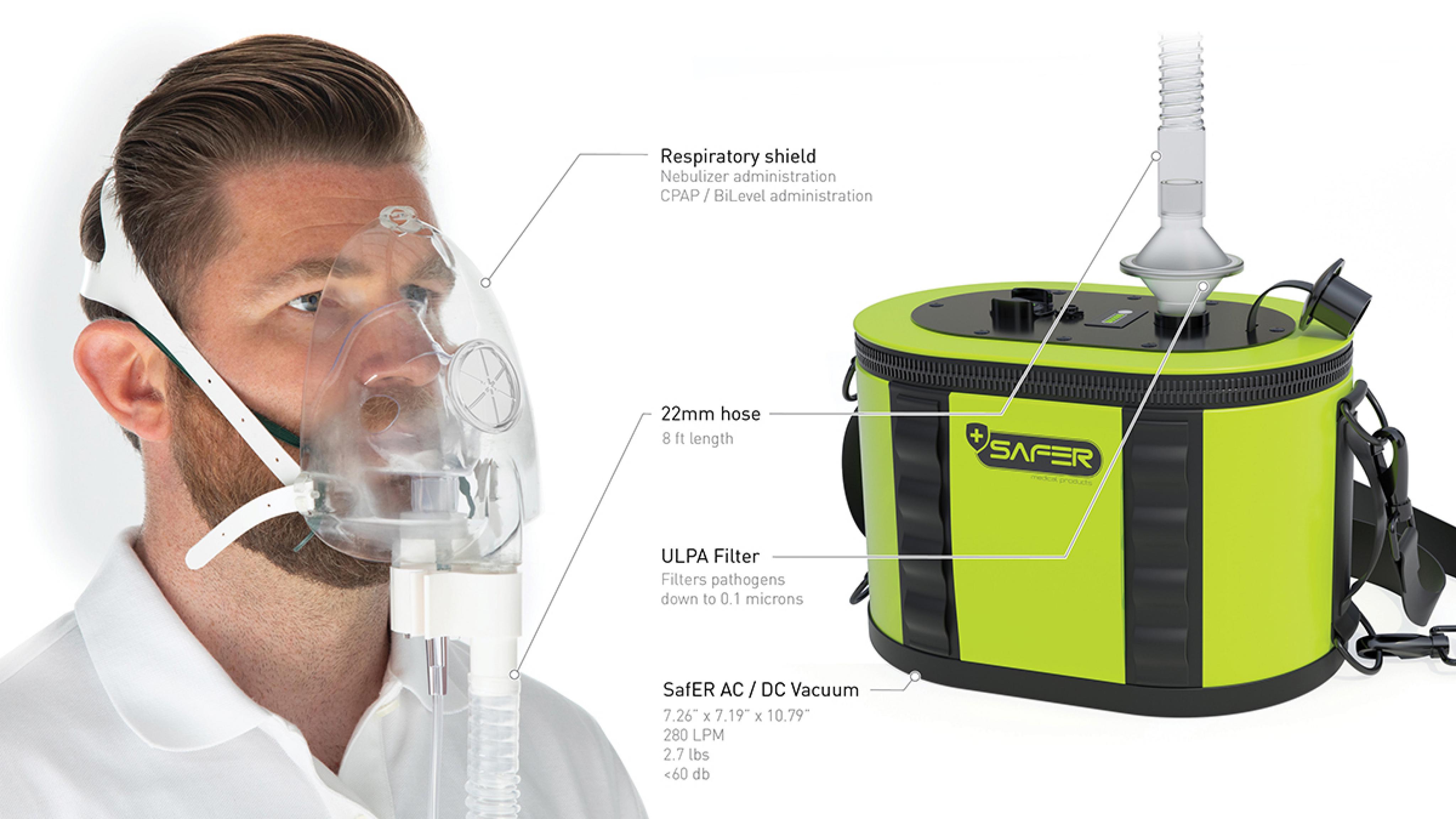 SaFER Medical Products Vacuum Diagram