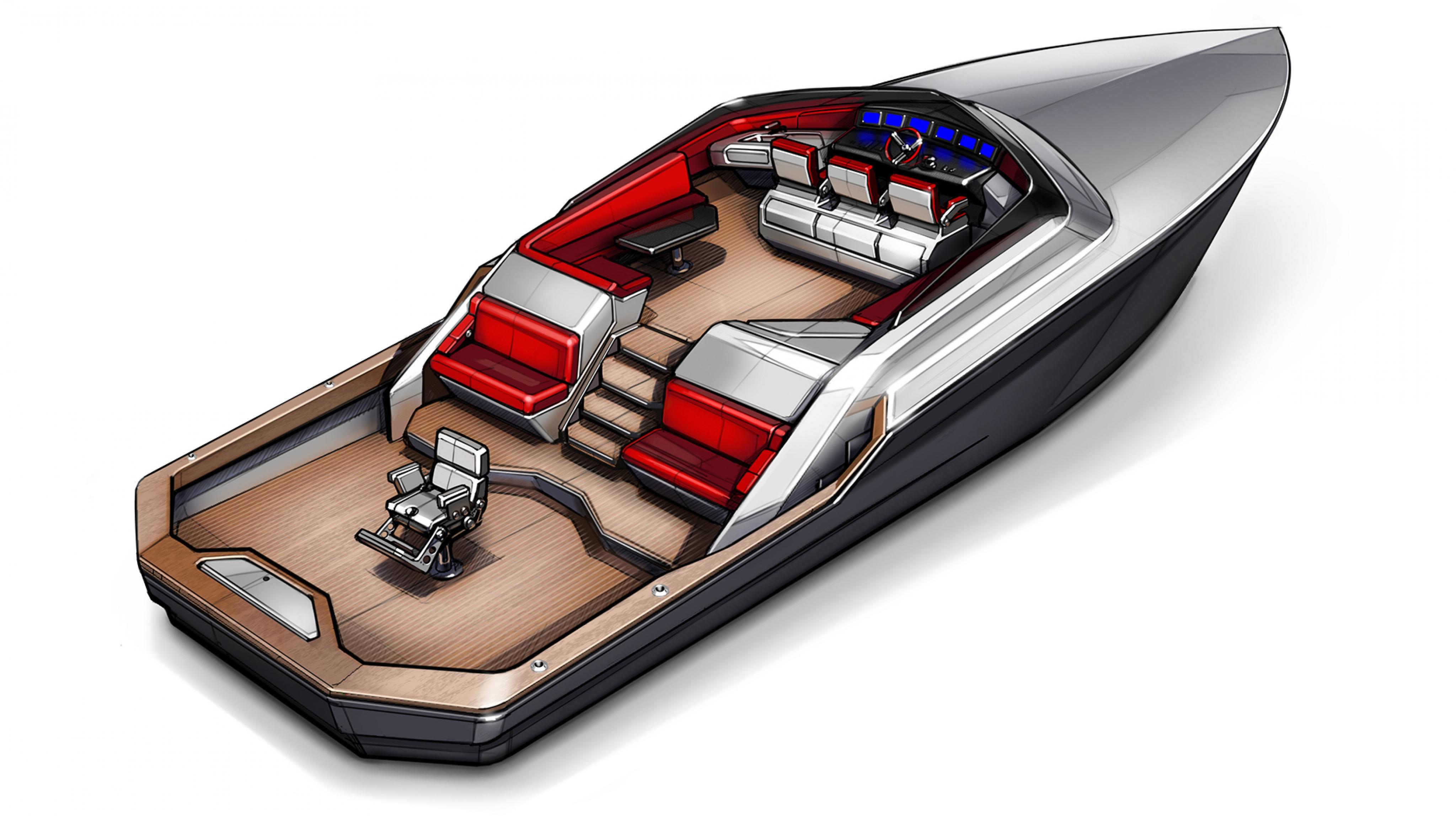 Legend Yachts 58 Express   ROBRADY design