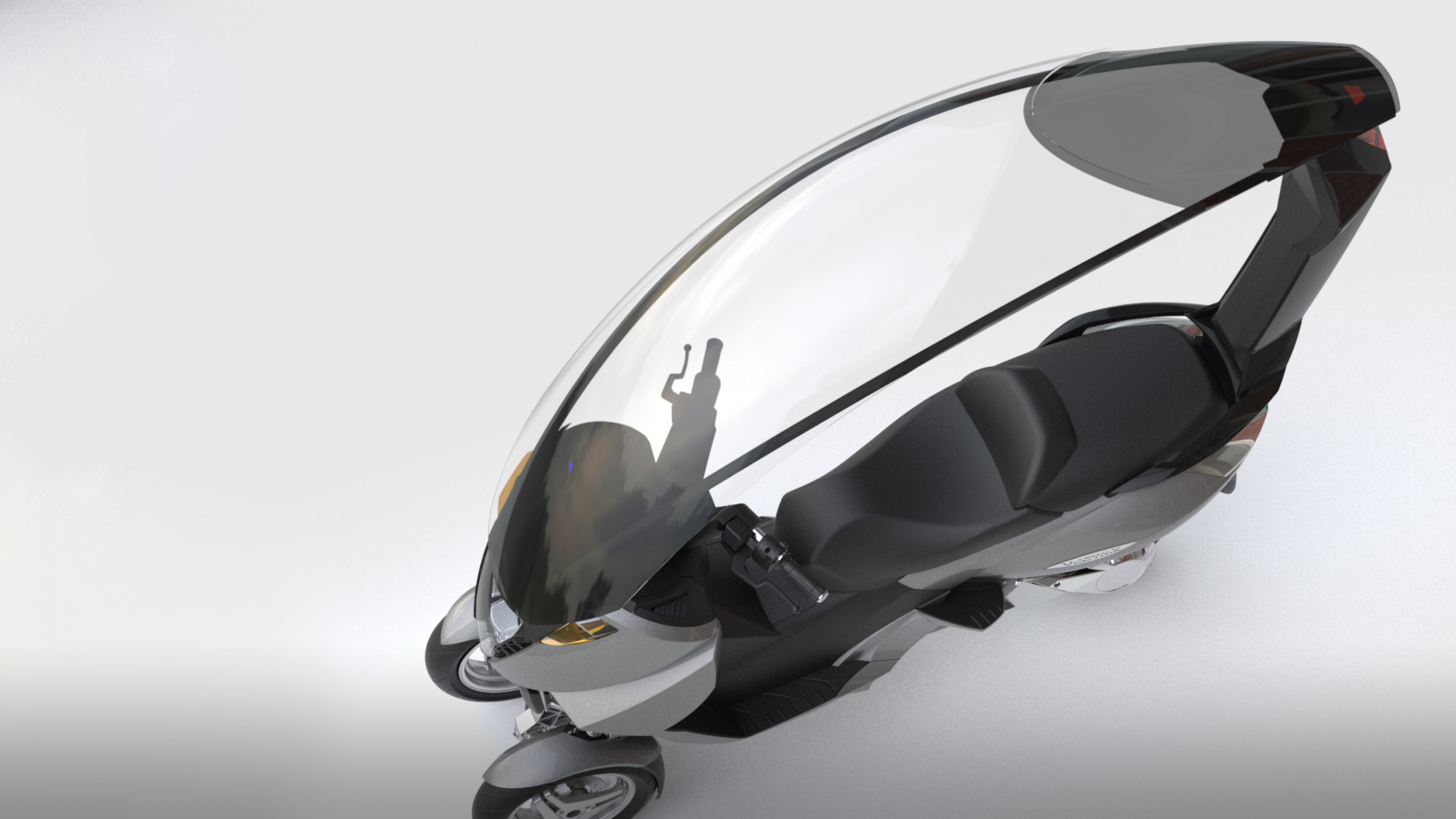 Vectrix Electric Scooter Canopy | ROBRADY design